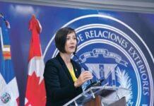 Shauna Hemingway, Embajadora Canada en República Dominicana